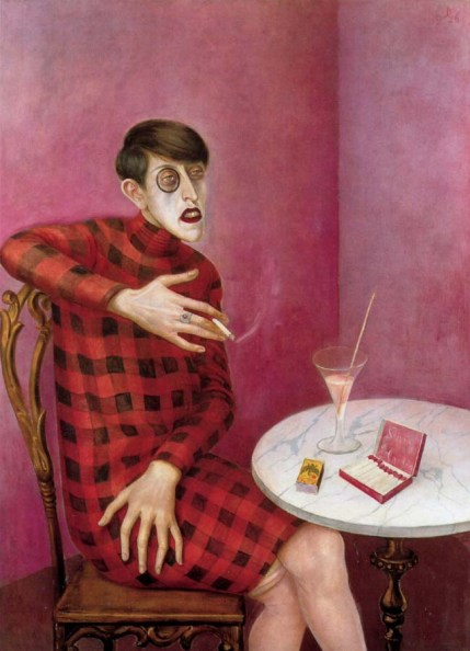 Portrait of the journalist Sylvia von Harden by Otto Dix (1926)